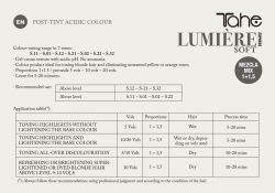 LUMIERE COLOUR EXPRESS S.32 Ginger - бежевый (100 мл) Tahe
